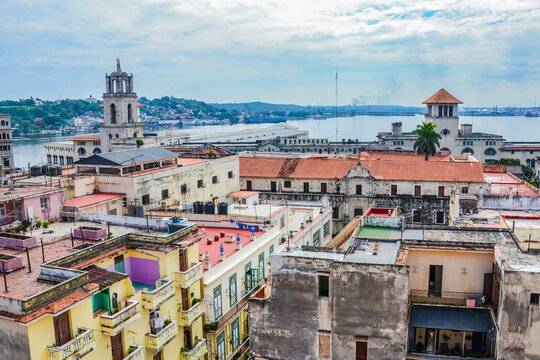 Cityscape of the Streets of Havana (Cuba)