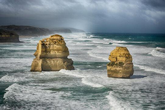 Twelve Apostles rocks ad Great Ocean Road, south Australia