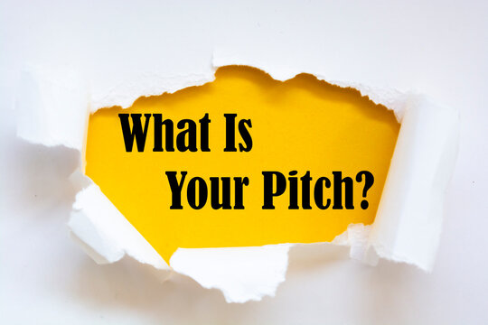 Word writing text What Is Your Pitch Question.