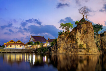 Truc Lam An Giang Monastery, Vietnam