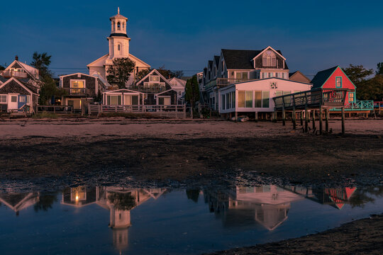 Massachusetts-Cape Cod-Provincetown-Harbor