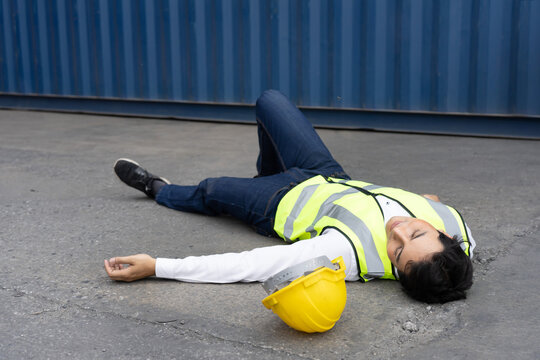 Worker Faint at the Container Warehouse