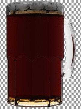 mug of dark beer png