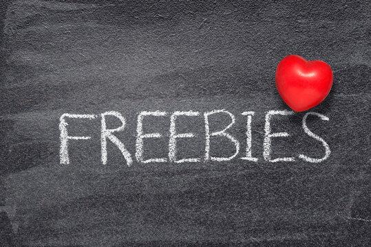 love freebies heart