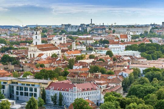 View of Vilnius, Lithuania