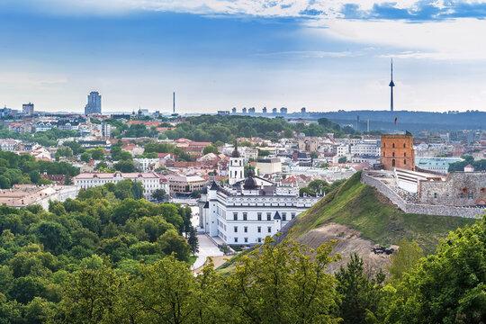 Vilnius castle, Lithuania