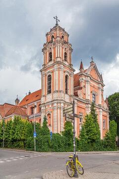 Church of All Saints, Vilnius, Lithuania
