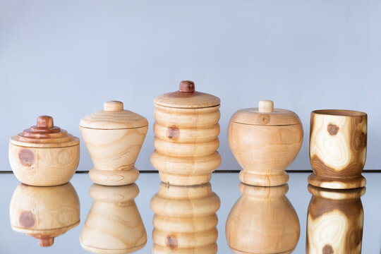 hobby materials such as candy bowl, Spice Bowl, snack bowl, bowl made by craftsmanship and craftsmanship made by wood lathe machine