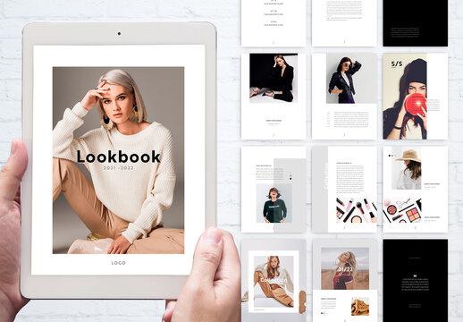 Black and White Style Digital ebook Lookbook
