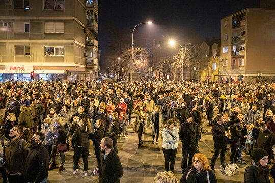 People mourn the death of Djordje Balasevic