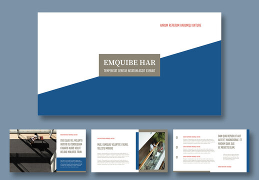 Corporate Presentation Layout