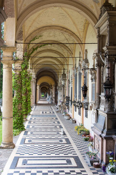 Croatia, Zagreb. Mirogoj Cemetery owned by city so all religions accepted. Designed by Hermann Bolle.