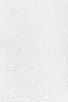 Vertical white watercolor papar texture background for cover card design or overlay aon paint art background