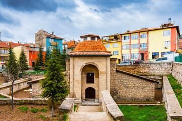 Balikli Tekke ( religious school ) in Kutahya City of Turkey Wall mural