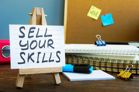Sell your skills memo in the office.