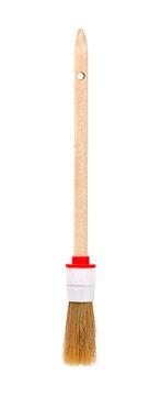 Hammer finishing brush isolated on white background