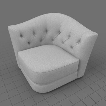 Modern armchair 1