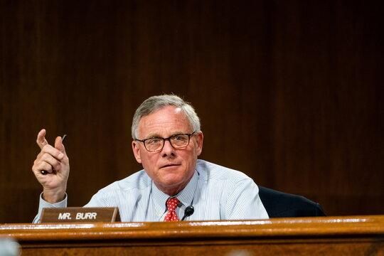 Senate Intelligence Committee hearing on Capitol Hill in Washington