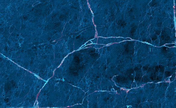 Abstract blue marble texture for background with beautiful vein. Natural Blue Marble Stone. Onyx marble (with high resolution), marble for interior exterior decoration design business and industrial.