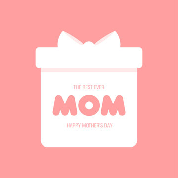 The best ever Mom with gift box