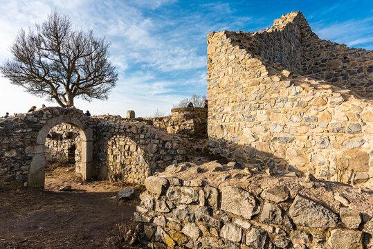 Ruine der Löwenburg im Siebengebirge