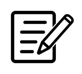 dokument ikona - fototapety na wymiar