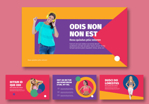 Colorful Pitch Deck