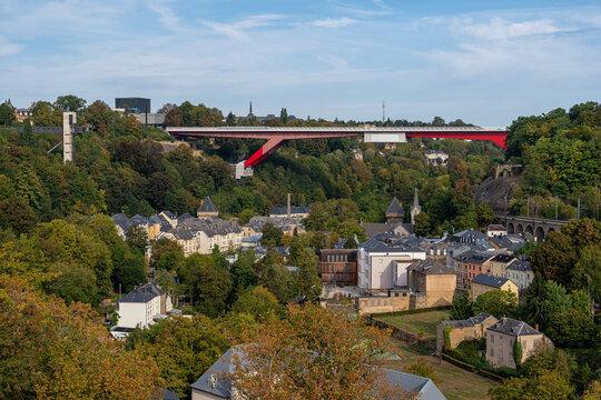 The Bridge in Luxembourg City