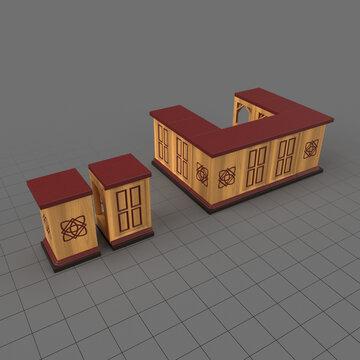 Miniature tavern bar
