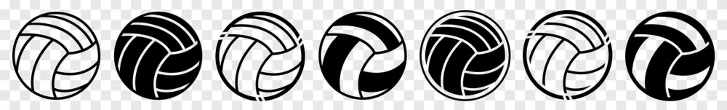 Volleyball | Ball | Emblem | Logo | Variations