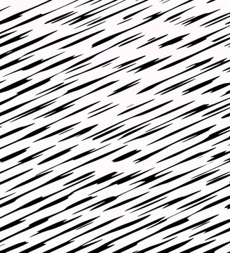 Minimalist slanted lines abstract background in black and white