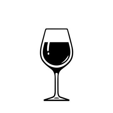 Wine glass svg