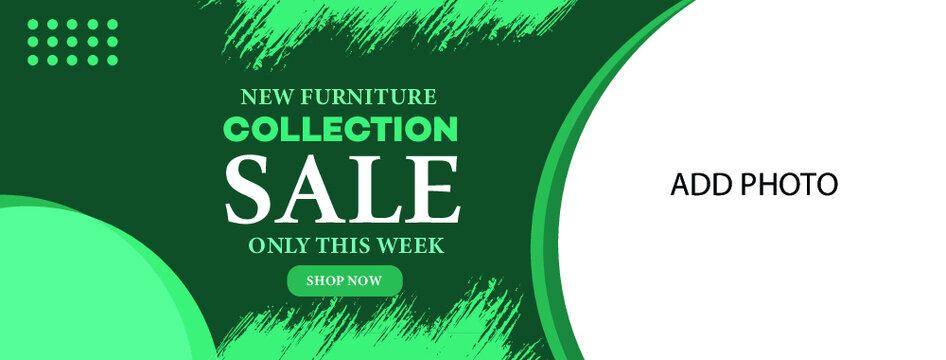 furniture sale web banner