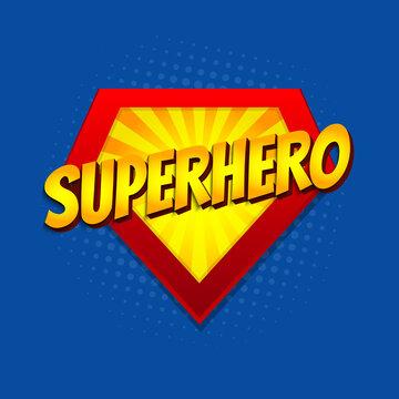 Super hero power graphics, vector