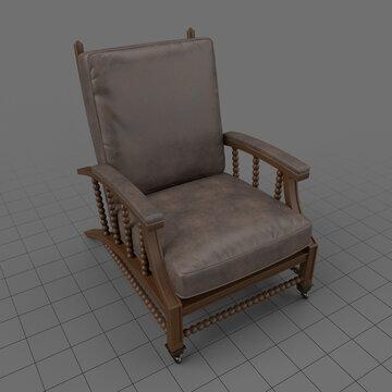 Leather armchair 2