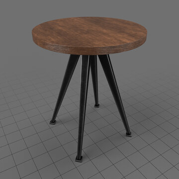Round coffee table 2