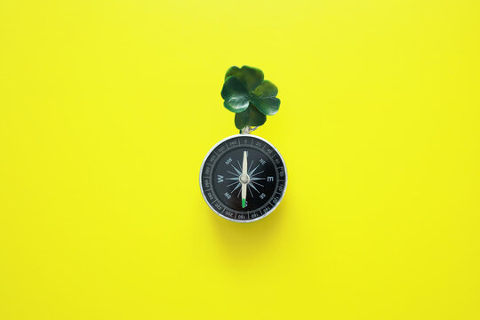 St. patrick's day background. Religious Christian Irish celebration. Four-leaf clover symbol of good luck.