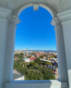 A View of Charleston, South Carolina from the Steeple of St. Michael's Church