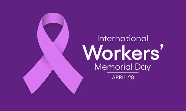 Vector illustration on the theme of International workers memorial day observed each year on April 28th across the globe.