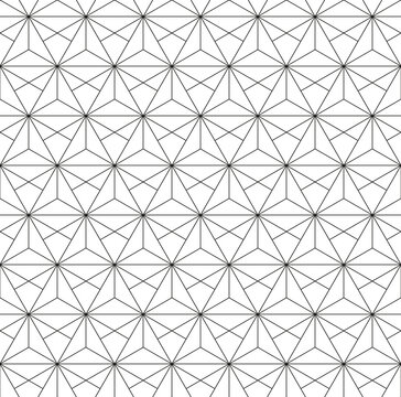 Seamless background for your designs. Modern ornament. Geometric abstract light pattern