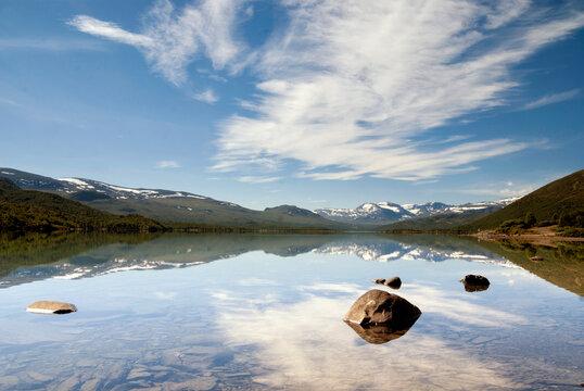 Lake on Valdresflya