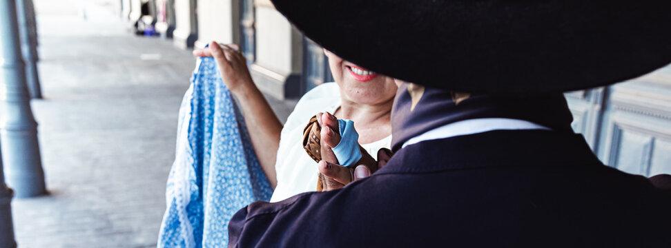 Argentine gauchos, dancing folklore, typical dances, Latin American culture