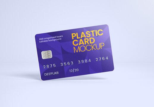 Credit or Debit Card Mockup
