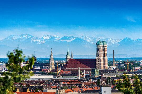Munich during summer