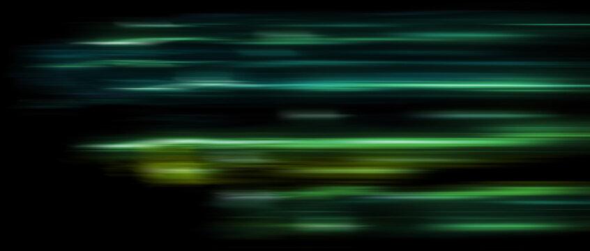 abstract led light trails defocused, motion blur