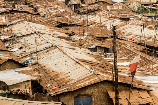 Tin Rooves in the Slums