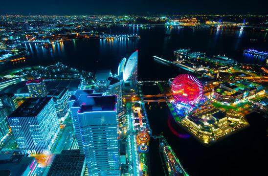 横浜夜景 2021 東京タワー スカイツリーまで一望