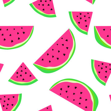 Seamless pattern with sweets.  For prints on T-shirts, textiles, paper products, the Web.