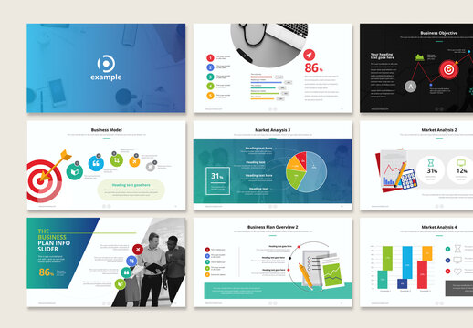 Business Plan and Marketing Presentation Layout