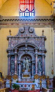 Saint Raphael Shrine Church of Angelo San Raffaele Venice Italy